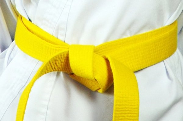 Level 1: Yellow Stripe, Yellow Belt